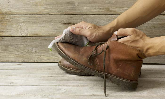 How to Clean Leather Work Boots with Household Items