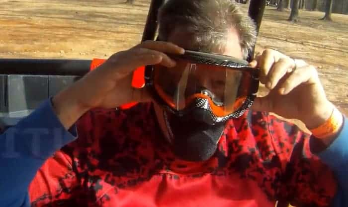best dust mask for ATV riding