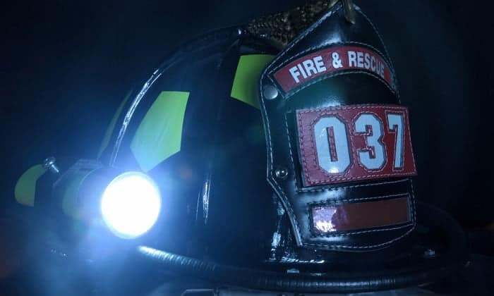 best firefighter helmet light