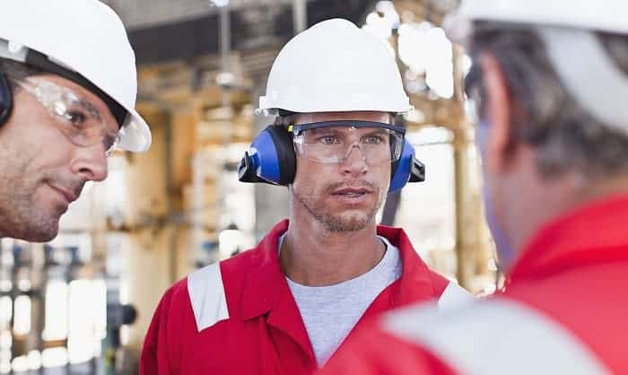 what are safety glasses made of